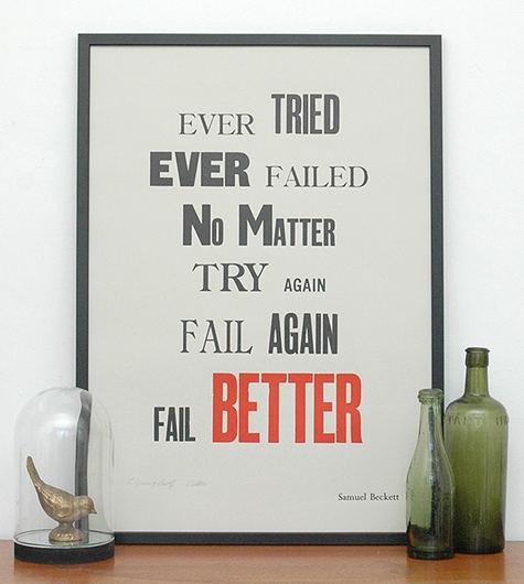 Failure...