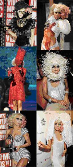 Lady Gaga: outstanding Recording Artiste